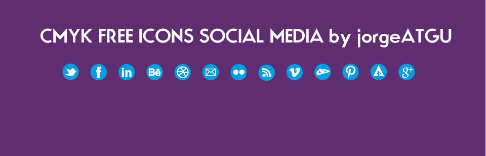 cyan icons social media pixel vector svg