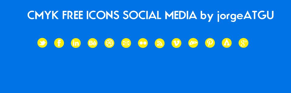 yellow icons social pixel media vector svg