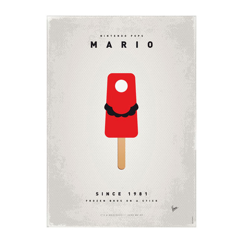 Super Mario Ice Pops
