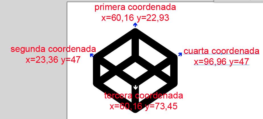 segundo punto coordenadas
