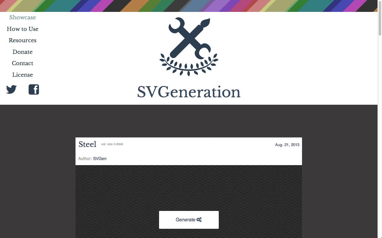 svg generation