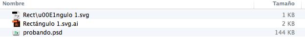 archivos export