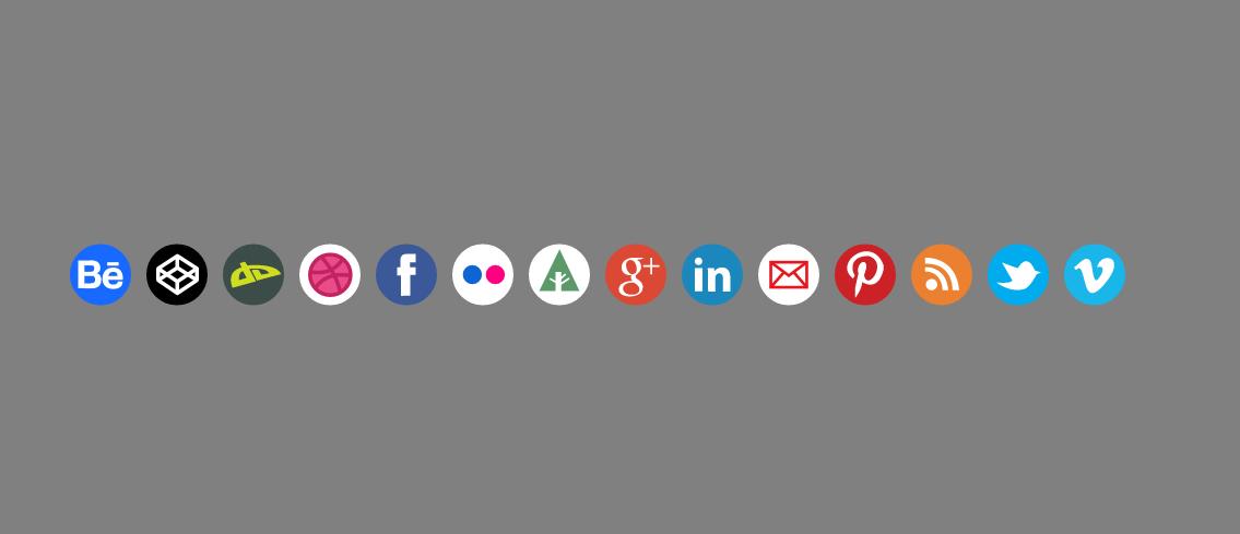 iconos redes sociales svg